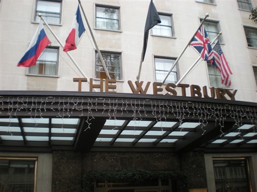 Photo:Westbury Hotel, Conduit Street W1, 2012