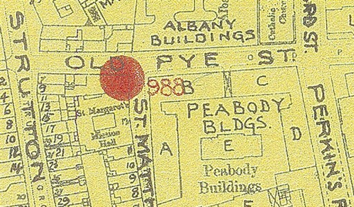 Photo:Old Pye Street SW1: Bomb Map