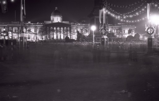 Photo:The National Gallery (night view from Trafalgar Square)