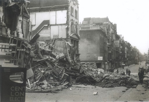 Photo:Bond Street looking north, 11 May 1941