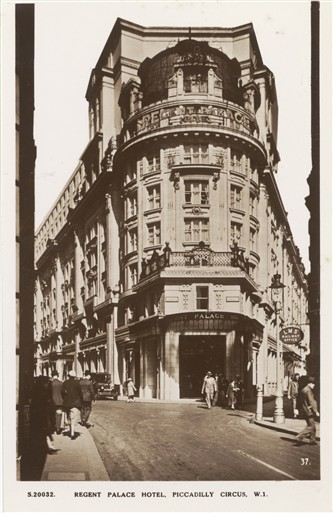 Photo:Regent Palace Hotel before the Blitz