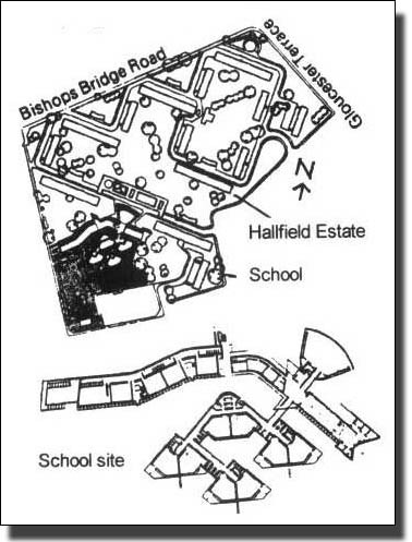 Photo:Hallfield Estate School Site