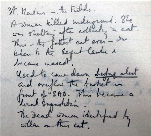 Photo:St-Martin's-in-the-Fields Bomb Report, November 1940