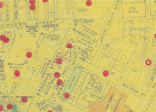Photo:Bomb Map: Turner Buildings