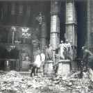 Photo:Westminster Abbey: Interior damage, 11 May 1941