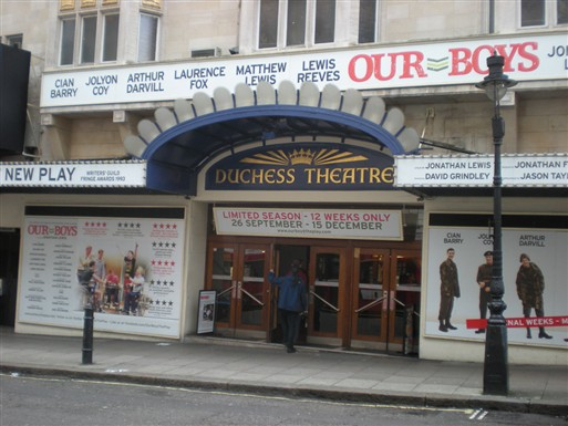 Photo:Duchess Theatre, 2012