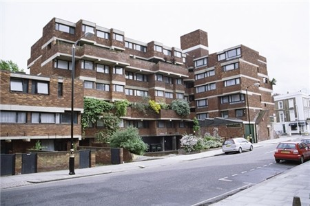 Photo:Lillington Gardens housing development, 2012