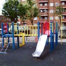 Photo:The playground built on the Hughes Mansions bomb site